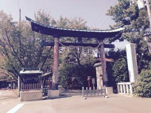 鷲宮神社とりい